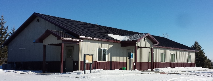 Hobart Town Hall in Otter Tail County